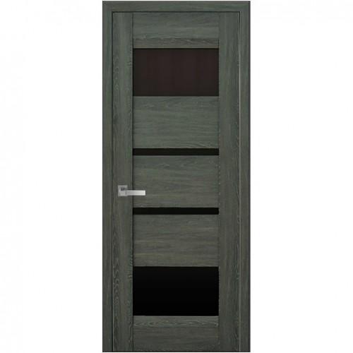 Межкомнатная дверь Ибица Дуб Графит (Nano Flex)