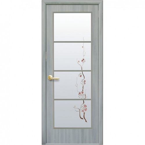Межкомнатная дверь Виктория (Экошпон)