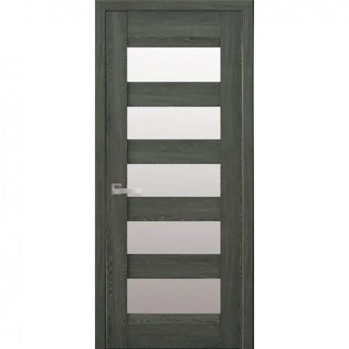 Межкомнатная дверь Бронкс Дуб Графит (Nano Flex)