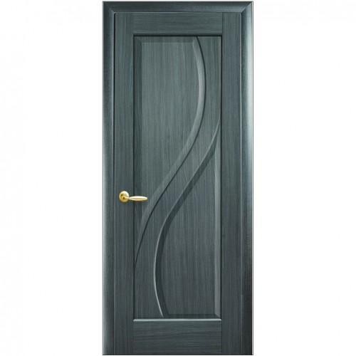 Межкомнатная дверь Прима Grey (ПВХ) Глухая