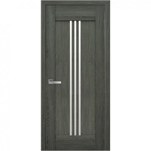 Межкомнатная дверь Рейс Дуб Графит (Nano Flex)