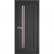 Межкомнатная дверь Делла со стеклом сатин (ПП Премиум)
