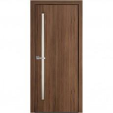 Межкомнатная дверь Глория со стеклом сатин (ПВХ DeLuxe)