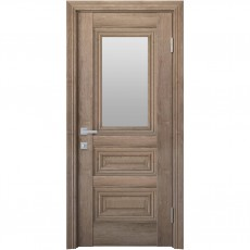 Межкомнатная дверь Камила со стеклом сатин (ЭкоВуд)