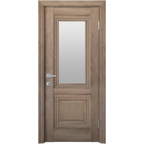 Межкомнатная дверь Канна со стеклом сатин (ЭкоВуд)
