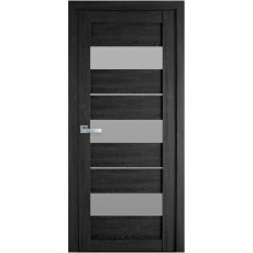 Межкомнатная дверь Лилу со стеклом сатин (ПВХ Ultra)