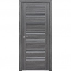 Межкомнатная дверь Венеция С1 со стеклом графит (SmartCover)
