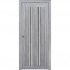 Межкомнатная дверь Верона C1 со стеклом графит (SmartCover)