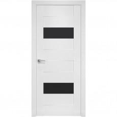Межкомнатная дверь Женева со стеклом BLK