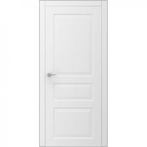 Межкомнатная дверь UNO 2 глухая с фрезеровкой ВАШИ ДВЕРИ