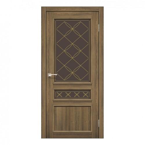 Межкомнатная дверь Korfad CL-05 стекло бронза