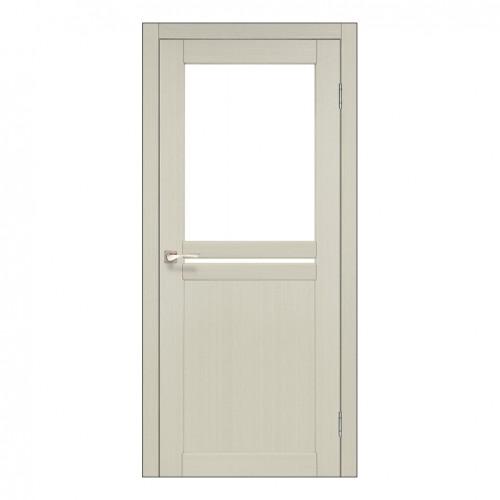 Межкомнатная дверь Korfad ML-04 стекло сатин