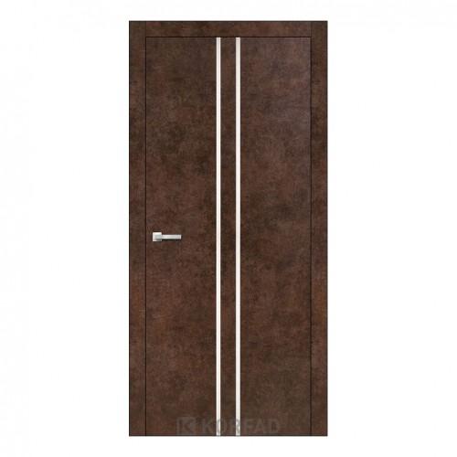Межкомнатная дверь Korfad ALP-02 с вставками