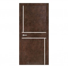 Межкомнатная дверь Korfad ALP-07 с вставками