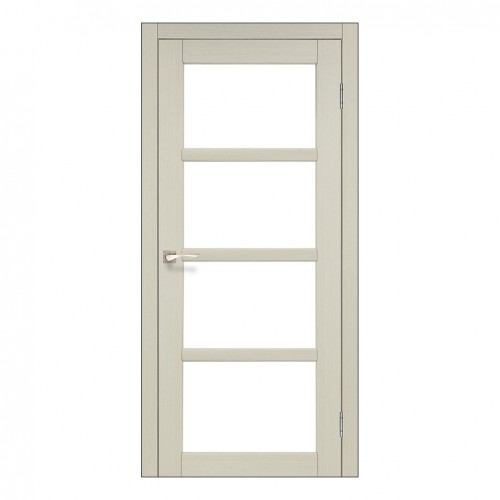 Межкомнатная дверь Korfad AP-02/1 со стеклом