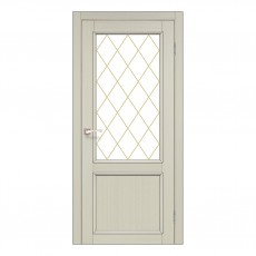 Межкомнатная дверь Korfad CL-02/1 стекло бронза