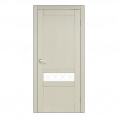 Межкомнатная дверь Korfad CL-06 стекло сатин