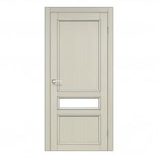 Межкомнатная дверь Korfad CL-07 стекло сатин
