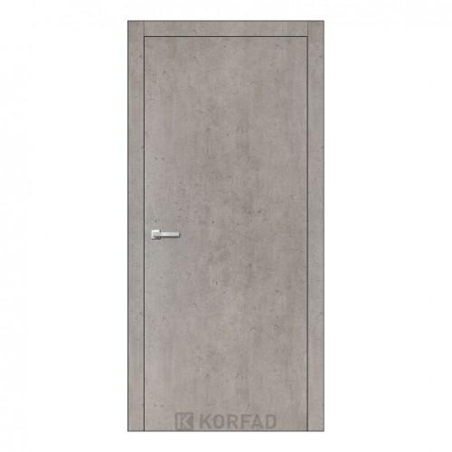 Межкомнатная дверь Korfad LP-01/1 глухая