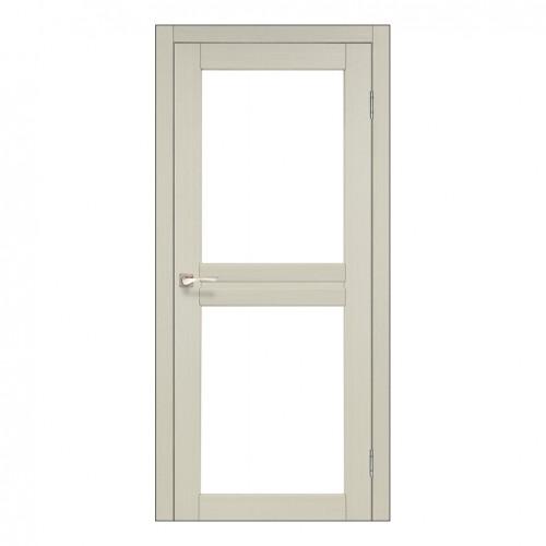 Межкомнатная дверь Korfad ML-07 стекло сатин