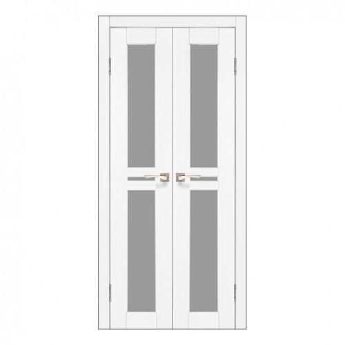 Межкомнатная дверь Korfad ML-08 двустворчатая стекло бронза