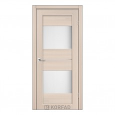 Межкомнатная дверь Korfad PM-02/1 со стеклом