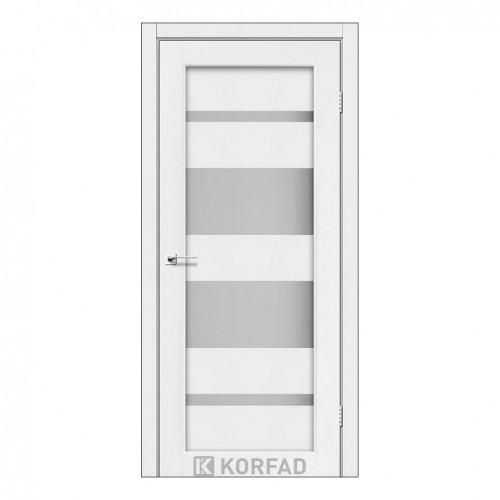 Межкомнатная дверь Korfad PM-07/2 со стеклом