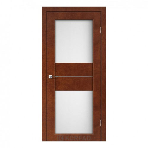Межкомнатная дверь Korfad PM-08/3 со стеклом