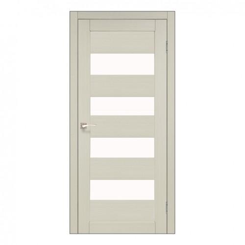 Межкомнатная дверь Korfad PND-02/1 со стеклом