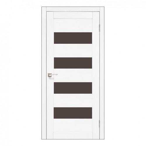 Межкомнатная дверь Korfad PND-02/2 со стеклом