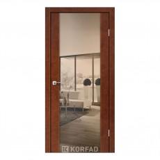 Межкомнатная дверь Korfad SR-01/3 двусторонний триплекс зеркало