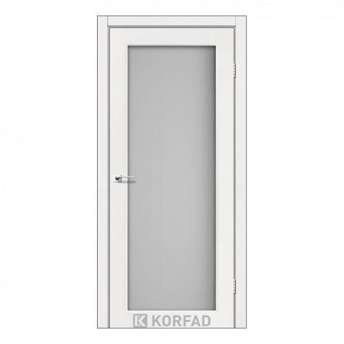 Межкомнатная дверь Korfad SV-01/2 со стеклом