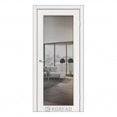 Межкомнатная дверь Korfad SV-01/2 двусторонний триплекс зеркало