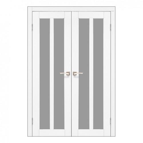 Межкомнатная дверь Korfad TR-05/2 двустворчатая со стеклом