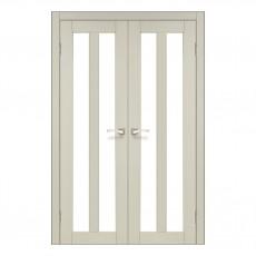 Межкомнатная дверь Korfad TR-05/1 двустворчатая со стеклом