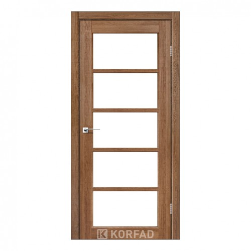 Межкомнатная дверь Korfad VC-02/2 со стеклом
