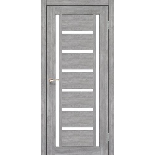 Межкомнатная дверь Korfad VL-02/2 со стеклом
