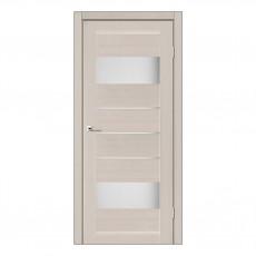 Межкомнатная дверь Arona со стеклом (Дуб и Серое дерево)