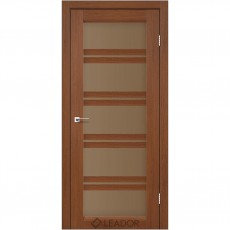 Межкомнатная дверь со стеклом Lodi LEADOR