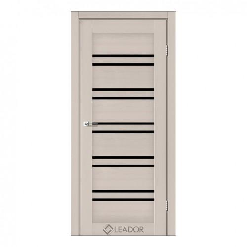 Межкомнатная дверь Sicilia со стеклом (Дуб и Серое дерево)