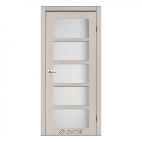 Межкомнатная дверь Veneto со стеклом (Дуб и Серое дерево)