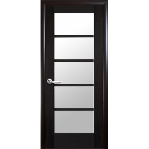Межкомнатная дверь Муза со стеклом сатин (ПВХ)