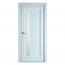 Межкомнатная дверь Делла со стеклом сатин (ПП)