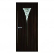 Межкомнатная дверь Бора со стеклом (Экошпон)