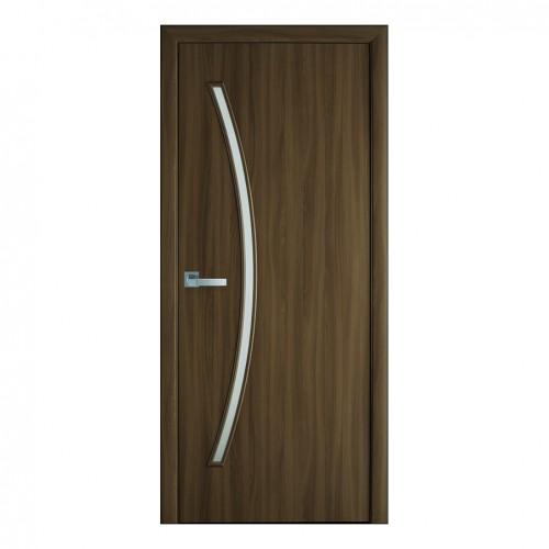 Межкомнатная дверь Дива со стеклом (Экошпон)