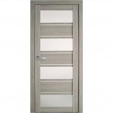 Межкомнатная дверь Элиза со стеклом сатин (ПВХ)
