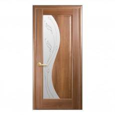 Межкомнатная дверь Эскада со стеклом сатин (ПВХ)