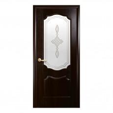 Межкомнатная дверь Вензель со стеклом