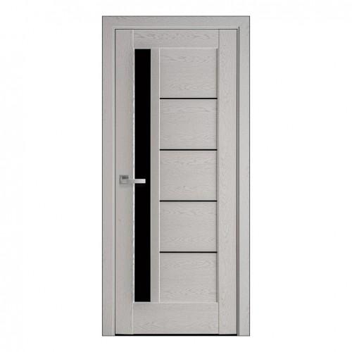 Межкомнатная дверь Грета со стеклом BLK (ПВХ)