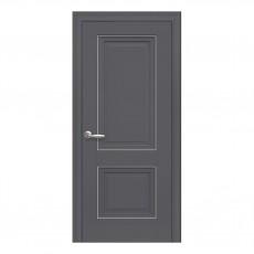 Межкомнатная дверь Имидж глухая с молдингом (ПП Премиум)